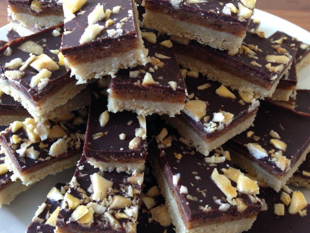 Choco caramel koekjes