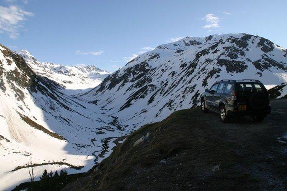 auto op berg