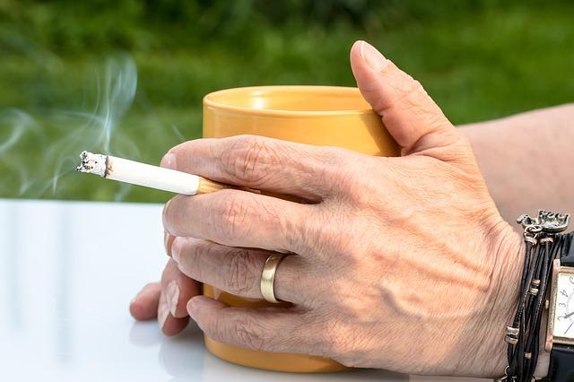 roken maakt oud