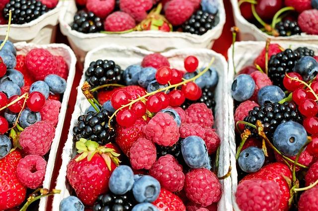 bakje gemengd fruit
